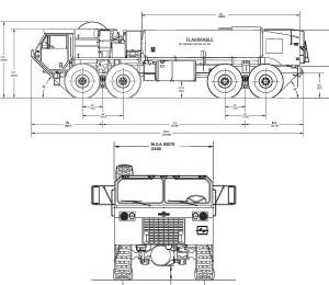 Tanker Manufacturing Design & Drawing