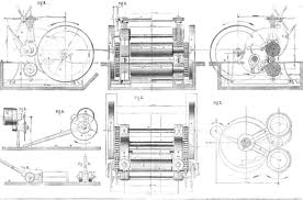Rolling Mill Design & Drawing